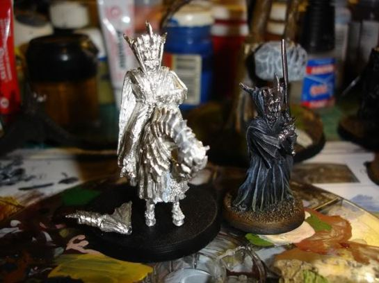 Citadel Lord of the Rings The Mouth of Sauron Foot and Mounted WIP