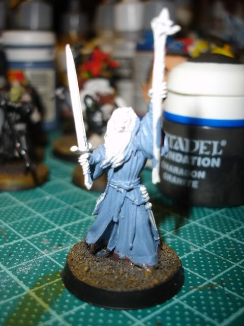 Citadel Lord of the Rings SBG Bridge of Khazad-Dum Gandalf WIP