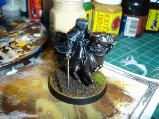 Citadel Lord of the Rings SBG Mounted Ringwraith WIP
