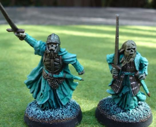 Citadel Miniatures Lord of the Rings SBG Barrow-Wights, Army of the Dead