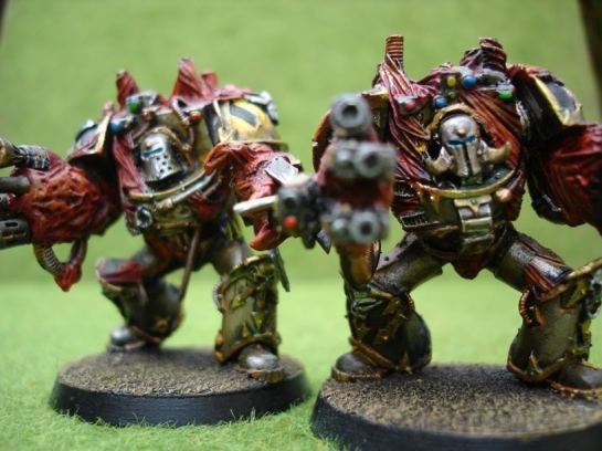 Iron Warriors Chaos Space Marine Obliterators