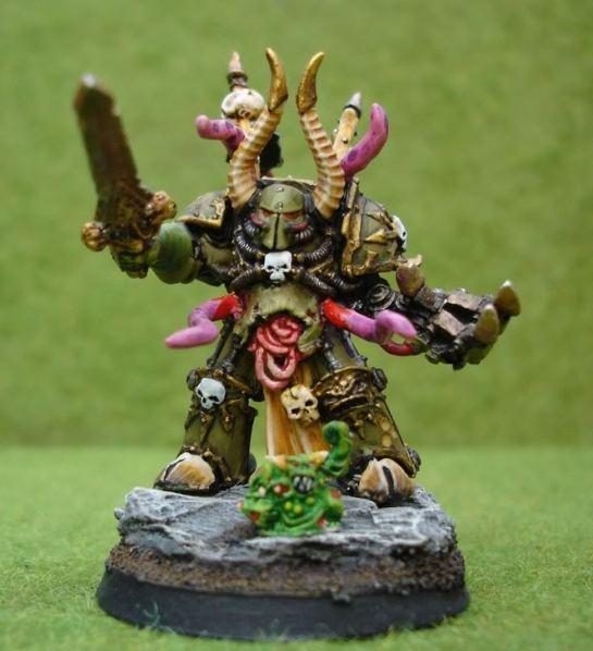 Chaos Plaguemarine Chosen Lord of Nurgle Terminator