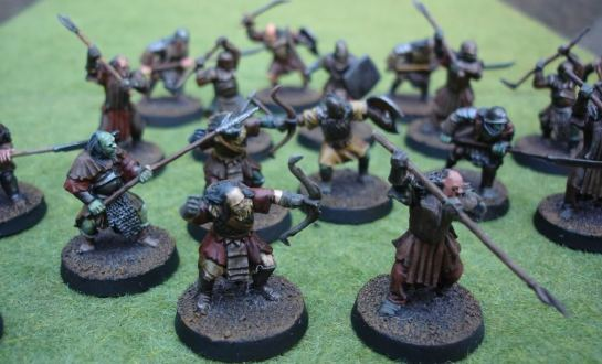 Citadel Miniatures Lord of the Rings SBG Mordor Orcs