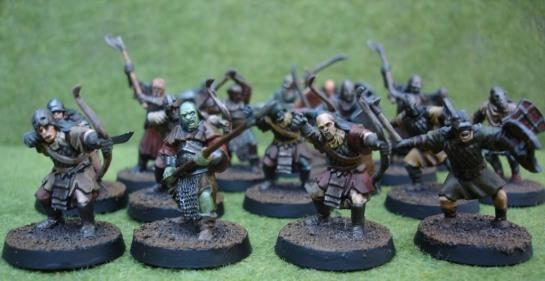 Citadel Miniatures Lord of the Rings SBG Mordor Orcs