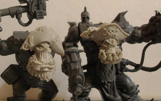 Maxmini Orc Pirate Heads