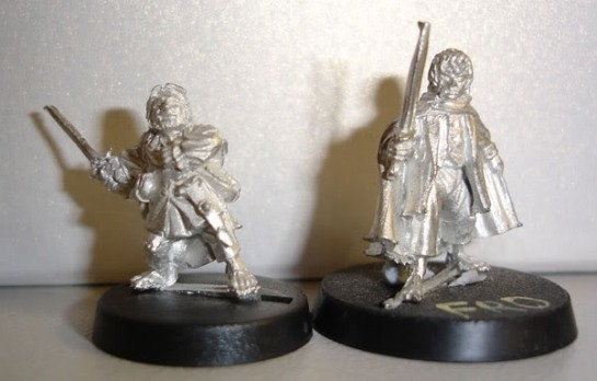 Red Box Games Halfling Ollander, Citadel Lord of the Rings Hobbit Frodo
