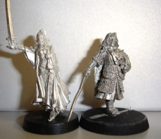 Red Box Games Elf Christia the Chaste, Citadel Lord of the Rings Eowyn, Shieldmaiden of Rohan
