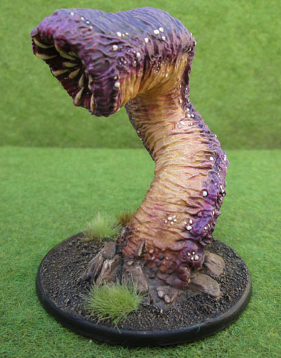 Purple Worm, Reaper Bones 77006: Great Worm