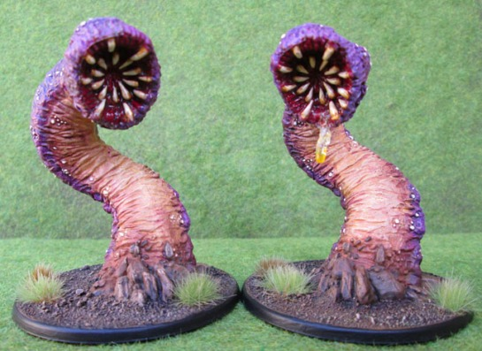 Purple Worms, Reaper Bones 77006: Great Worm