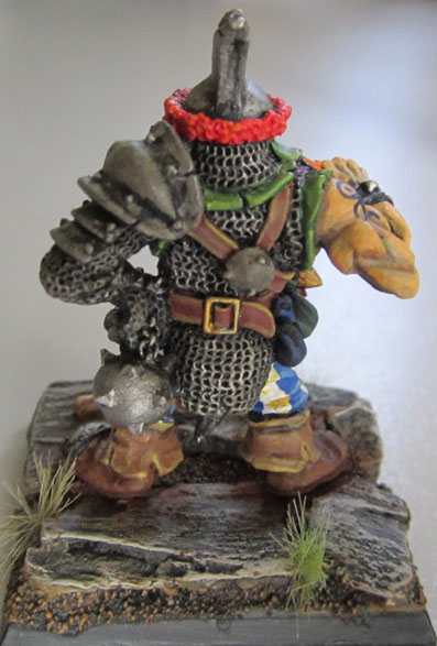 C23 Hrothyogg, Ogre Captain. Sculpted by Jes Goodwin.