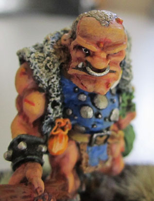 "C23 ""Bandit Ogre"" Sculpted by Jes Goodwin."