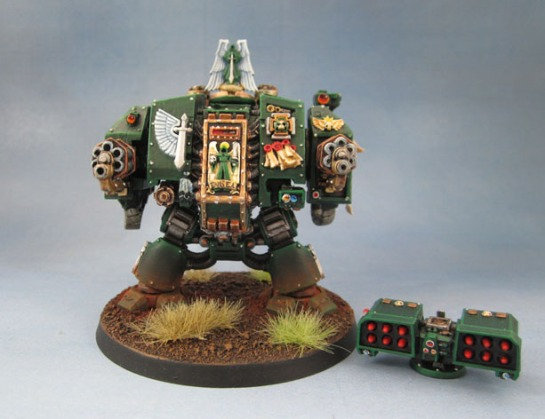 2nd Edition 40k Dark Angels Dreadnought