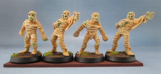 HeroQuest Mummies, Dark World Mummies