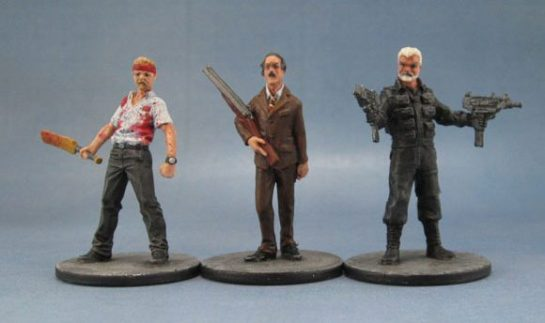 Zombicide Simon Pegg, John Cleese and Sean Connery