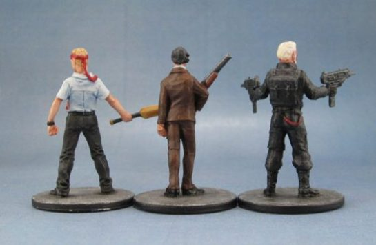 Zombicide Fred, Simon Pegg, Shaun of the Dead, Don, Basil Fawlty, John Cleese, Rob, John Mason, Sean Connery.