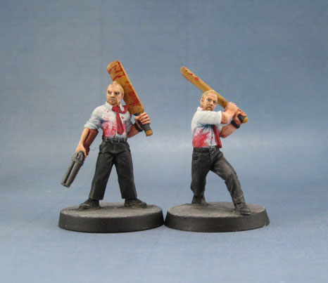 aka Simon Pegg as Shaun of the Dead