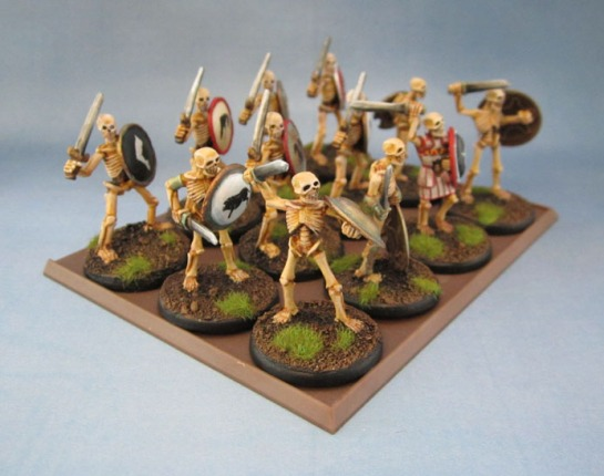 "Wargames Foundry ""Greek Mythology"" Skeletons"