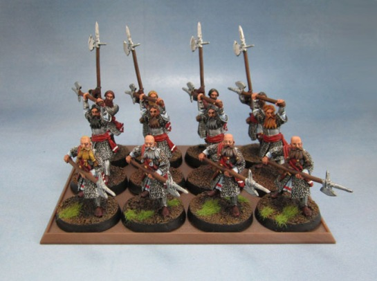 Citadel Miniatures Lord of the Rings Axemen of Lossarnach
