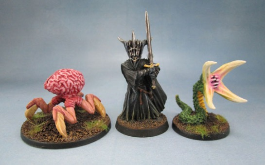 77006: Great Worm, Purple Worm, 77228: Chthon, Grick, 77229: Mind Eater, Intellect Devourer