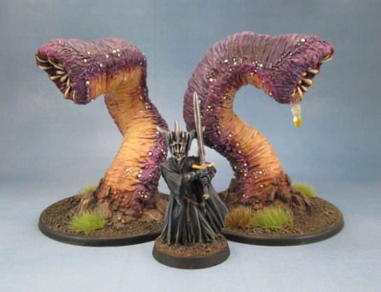 77006: Great Worm, Purple Worm, Mouth of Sauron
