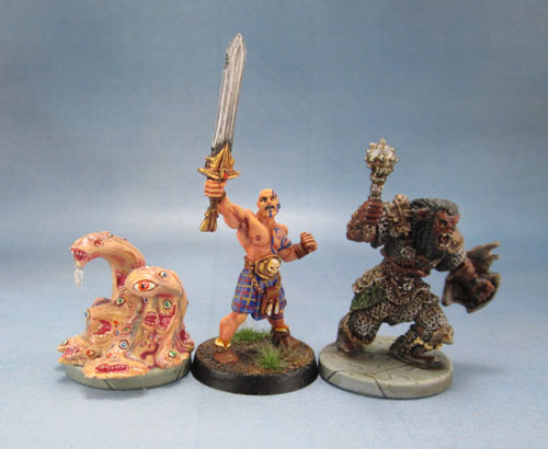 """Dungeons & Dragons – Wrath of Ashardalon """"Gibbering Mouthers"""" """"Orc Basher"""""""