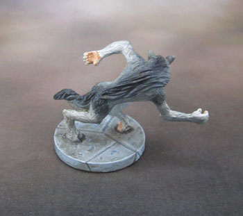 Dungeons and Dragons Castle Ravenloft Werewolf