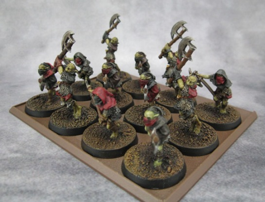 Lord of the RIngs, Middle Earth SBG, Moria Goblin Prowlers