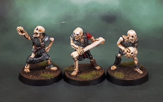 Oldhammer MD8 Skeleton Skullchucker/Screaming Skull Catapult Crew