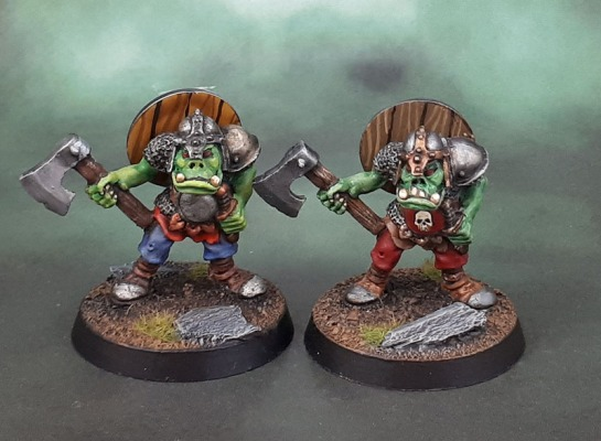ORC1 Oldhammer Warrior Orcs (1987)