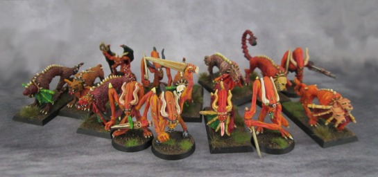 Oldhammer Realm of Chaos Bloodletters, Flesh Hounds of Khorne