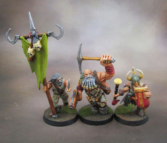 Kitbashed Chaos Cultists, Techno-Barbarians