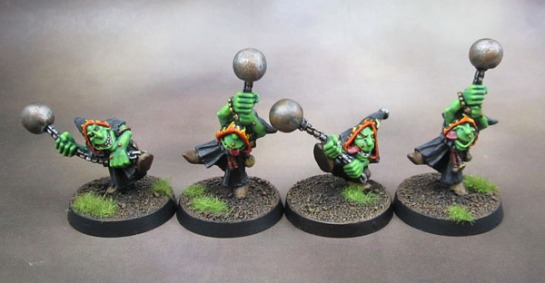 Oldhammer 4th Edition Night Goblin Fanatics.