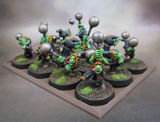 Oldhammer 4th Edition Night Goblin Fanatics
