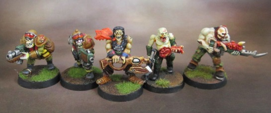 Plague Zombies and Plague Mutants.