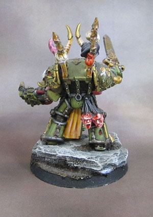 Nurgle Terminator Lord Conversion, Plague Marine
