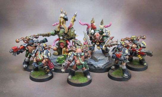 Plague Marines of Nurgle