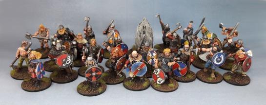 Wargames Foundry Vikings, Gripping Beast SV01b Viking Warlord, Eureka Miniatures, 28mm Vikings