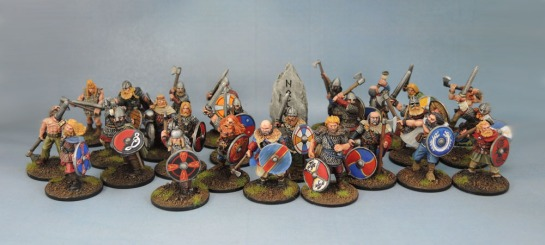 Wargames Foundry Vikings, Gripping Beast SV01b Viking Warlord, Eureka Miniatures, 28mm Vikings