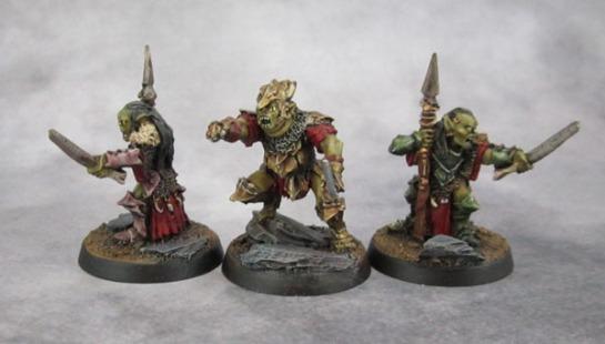 Durbûrz, the Goblin King of Moria, Moria Goblin Shamans
