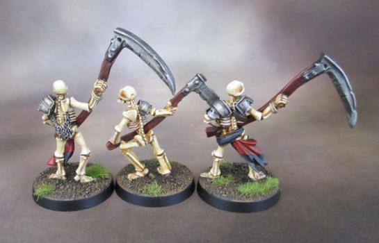Celtos Fir Bolg Skeletons with Warscythes