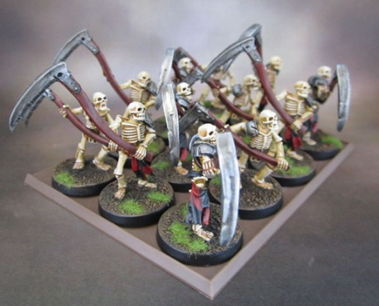 Celtos Fir Bolg Skeletons with Warscythes