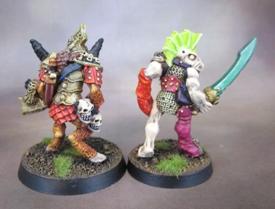 Oldhammer Realm of Chaos Beastman Beastmen Champions of Slannesh and Khorne