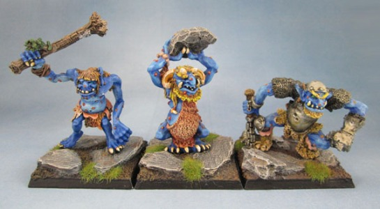 C20 Hill, Cave and Warrior Trolls