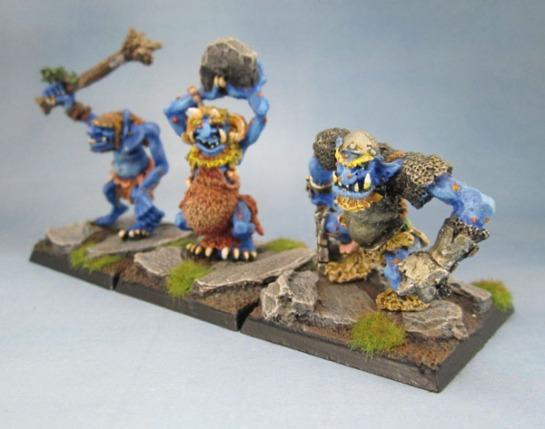 C20 Hill, Caveand Warrior Trolls