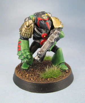 Mega-City One Judge. Adeptus Arbites in Power Armour, RTB01 Marine.
