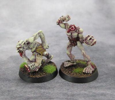 Citadel C18 Night Horrors - Ghoul and Golem