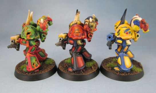 Space Crusade Chaos Space Marines of Nurgle, Khorne and Tzeentch