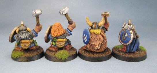 Oldhammer Citadel Norse Dwarfs Dwarves. Marauder Miniatures Shields, Sven Hasselfriesian, The Magnificent Sven