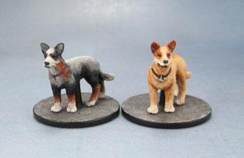 Zombicide Dog Companions, Blue Heelers
