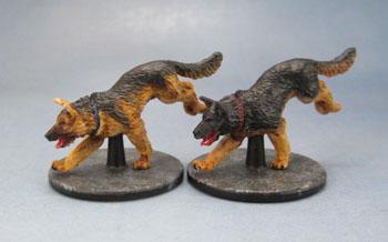 Zombicide Dog Companions, German Shepherds